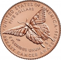 5 Dollars 2018, United States of America (USA), Breast Cancer Awareness