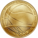 5 Dollars 2020, United States of America (USA), Basketball Hall of Fame