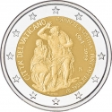 2 Euro 2019, Vatican City, Pope Francis, 25th Anniversary of the Restoration of the Sistine Chapel