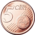 5 Euro Cent 2005, KM# 367, Vatican City